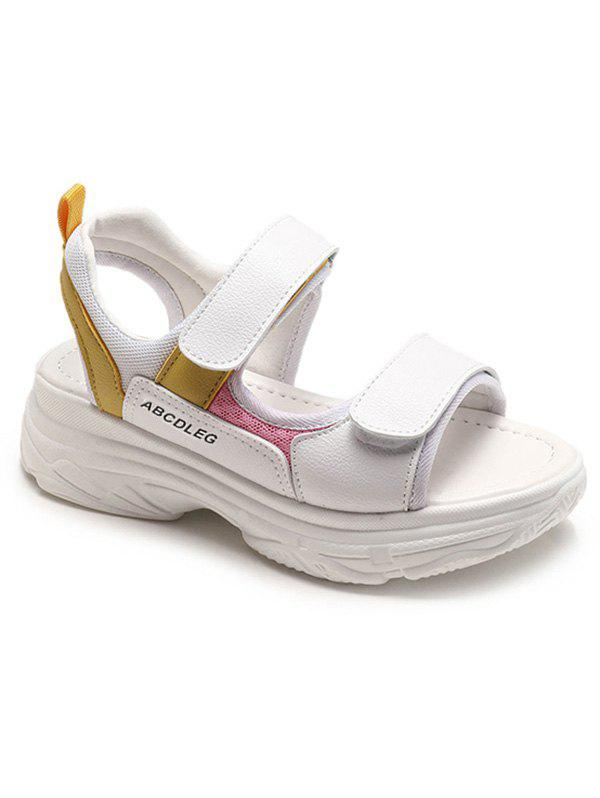 Hot Casual Elastic Band Platform Sandals