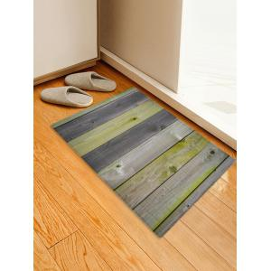 Wood Boards Print Antiskid Floor Rug -