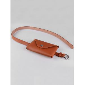 Fanny Pack Decorative Faux Leather Waist Belt -