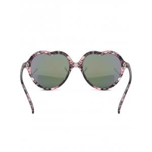 Unique Heart Frame Sun Shades Sunglasses -
