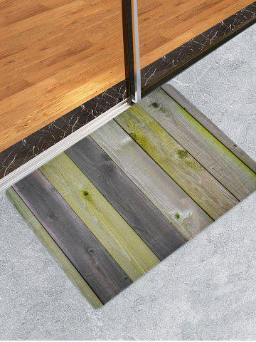 Latest Wood Boards Print Antiskid Floor Rug