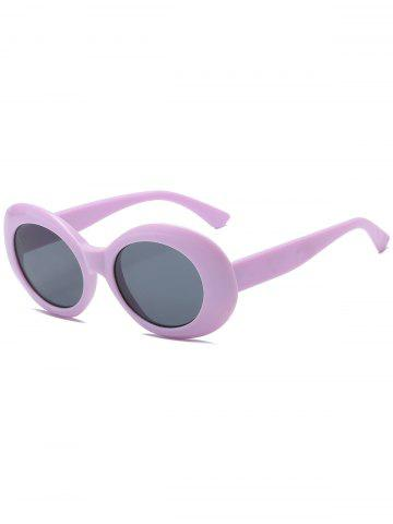 Cheap Anti UV Plastic Frame Oval Sunglasses