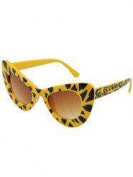 Outdoor Plastic Frame Sun Shades Catty Sunglasses -