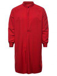 Arab Dubai Style Middle East Long Sleeve Thobe Kaftan -