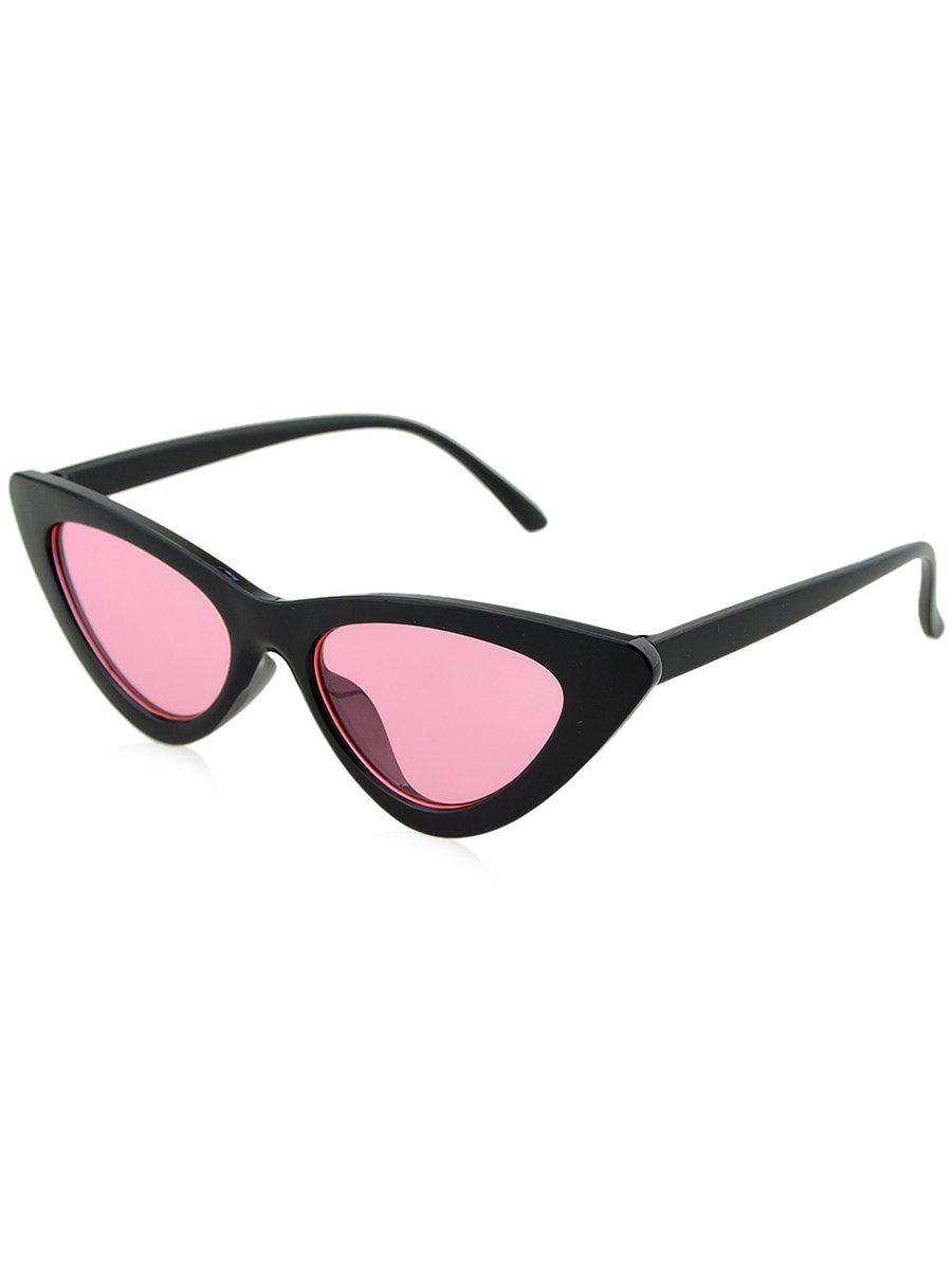 fde7aa0edb Affordable Anti Fatigue Plastic Frame Flat Lens Catty Sunglasses