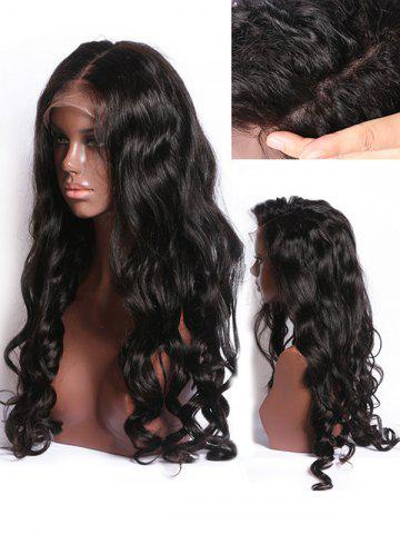 Latest Long Free Part Wavy Lace Front Synthetic Wig