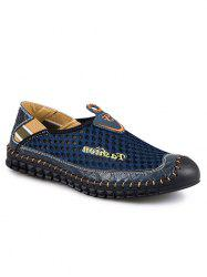 Slip On Stitched Casual Shoes -