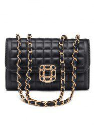 Classic Double Flap Chain Crossbody Bag -