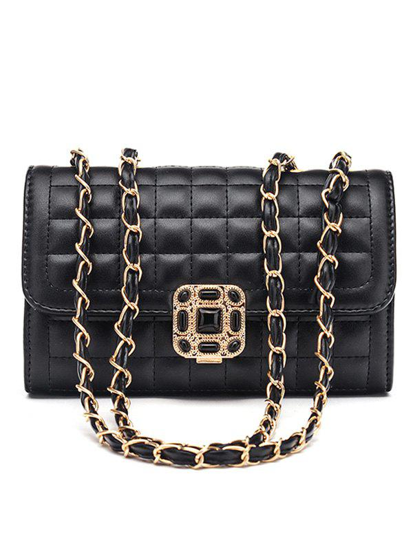 Outfits Classic Double Flap Chain Crossbody Bag