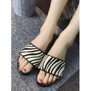 Casual Outdoor Holiday Flat Heel Slide Sandals -