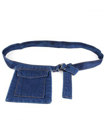 Outfit Funny Bag Decorative Denim Waist Belt