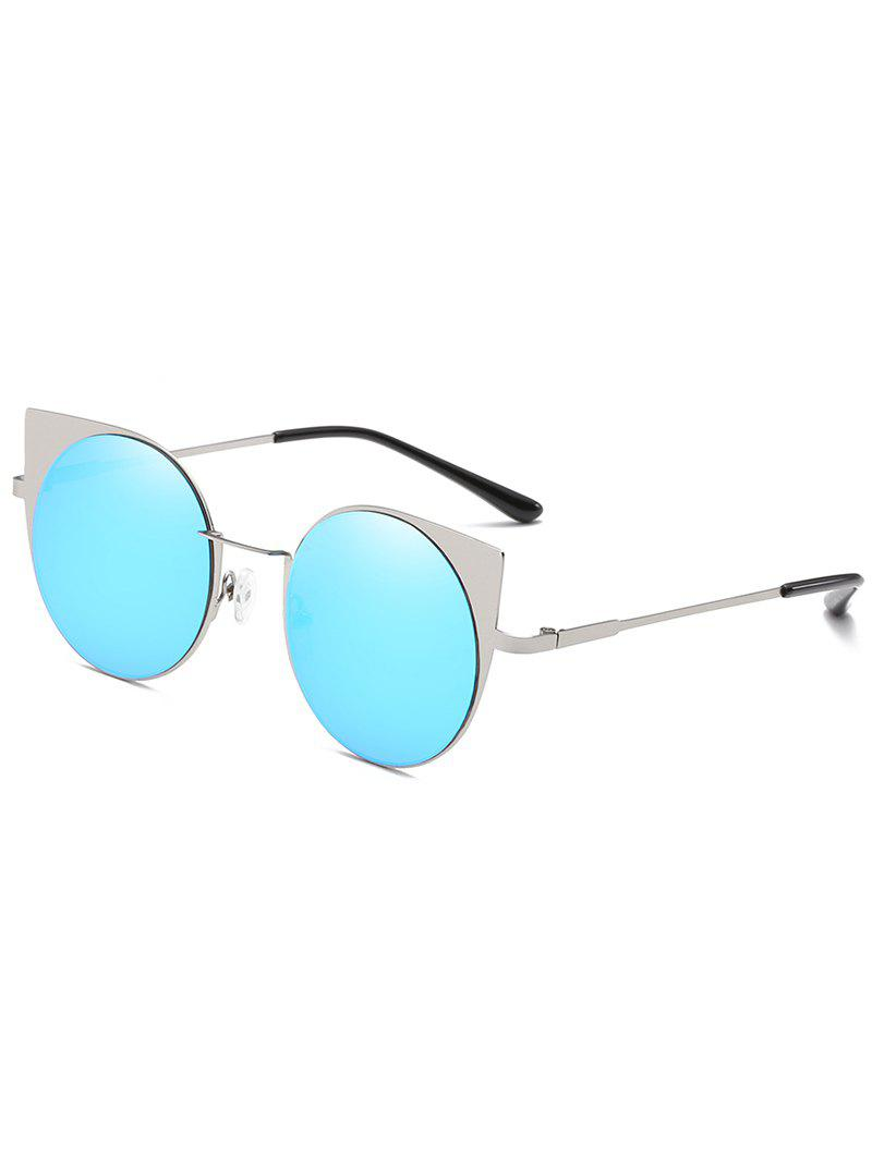 Latest Anti Fatigue Metal Full Frame Catty Round Sunglasses