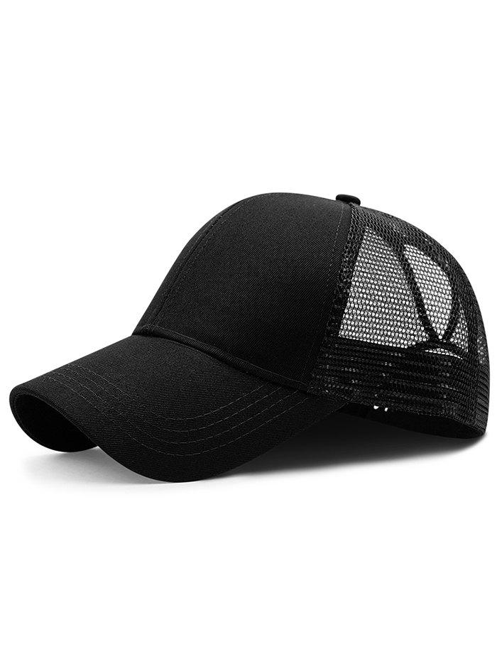Cheap Lightweight Solid Color Mesh Graphic Hat