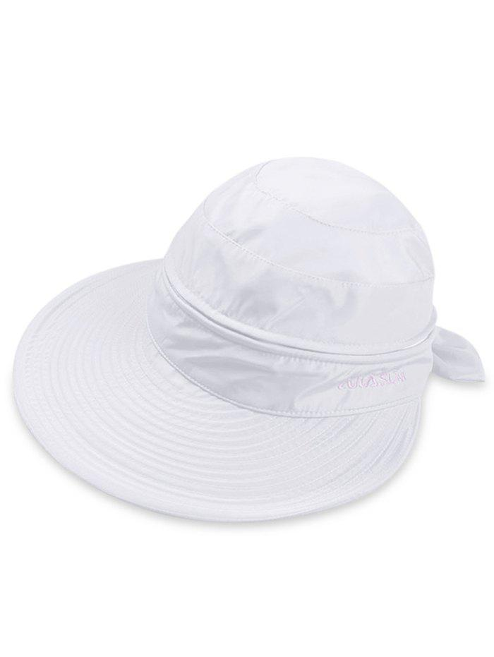New Outdoor Removable Top Cover Folding Wide Brim Sunscreen Hat