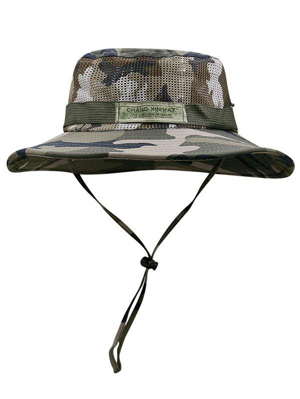 Best Camouflage Pattern Mesh Fisherman Hat