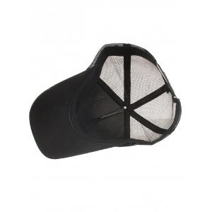 Outdoor Solid Color Mesh Breathable Sun Hat -