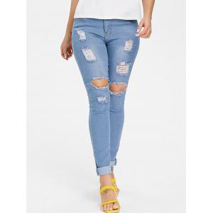 Skinny Ripped Jeans -