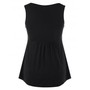 Embellished Cut Out débardeurs taille empire -