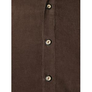 Pocket Panel Design Long Sleeve Shirt -