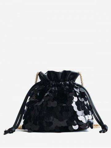 Shops Fish Scale Sequins Bucket Bag