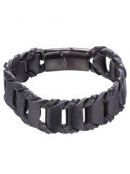 PU Leather Weaving Style Bracelet -