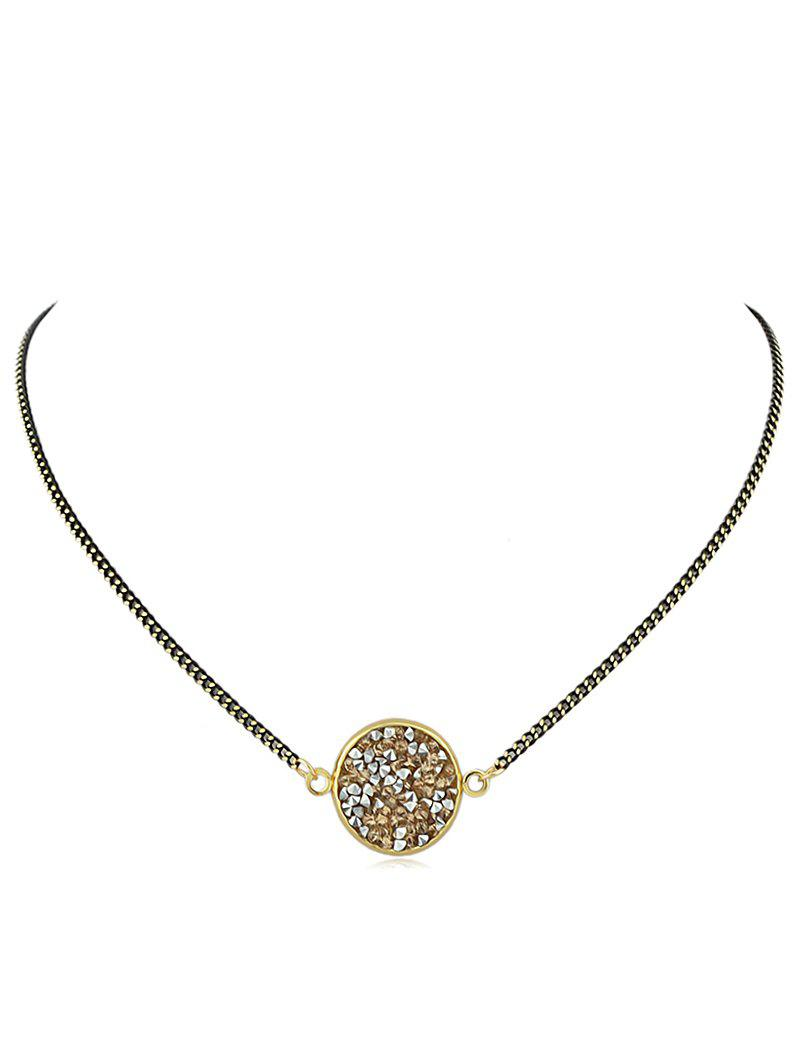 Shops Rhinestone Embellished Pendant Necklace
