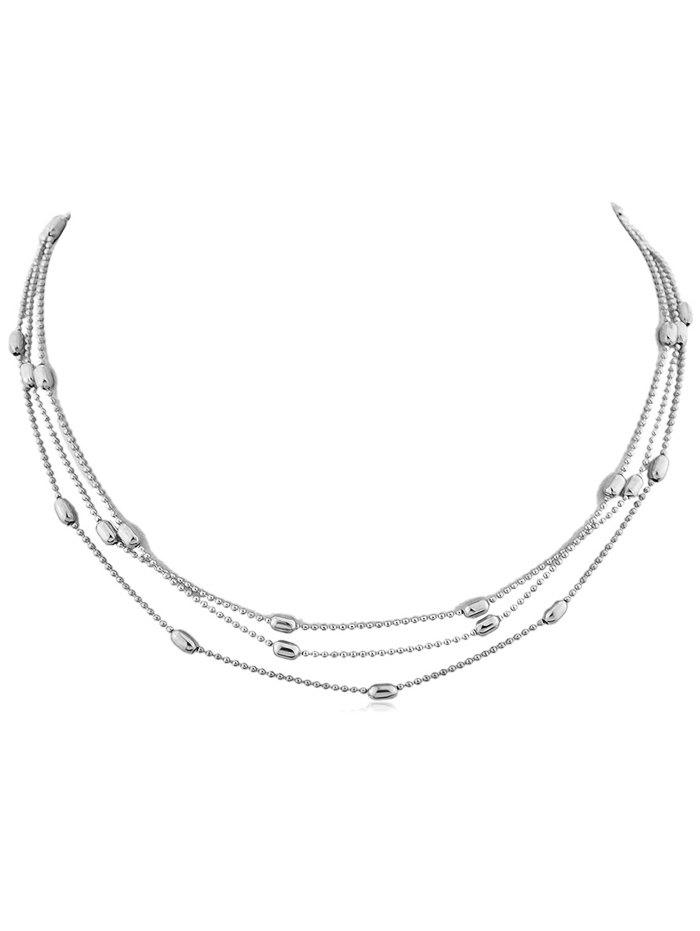 Shop Beads Alloy Layered Necklace
