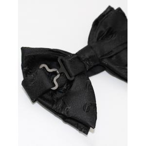 Jacquard Embroidery Decorative Pre-tied Bowtie -