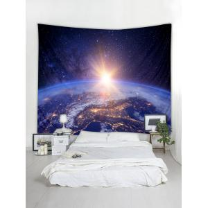 Planetary Light Print Wall Hanging Art Tapestry -