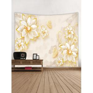 Flower Print Wall Decor Tapesrty -
