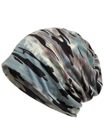 Outfits Outdoor Camouflage Pattern Decorative Beanie