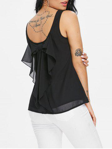 Outfits Low Back Tank Top with Bowknot