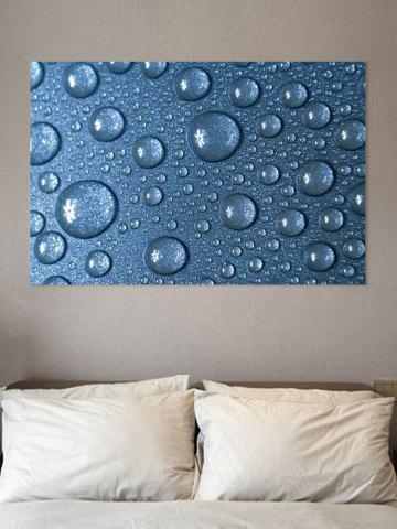 Online Droplet Print Wall Sticker for Bedrooms