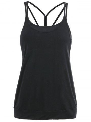 Online Strappy Open Back Camis