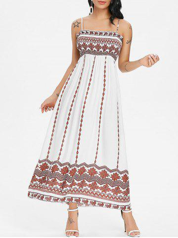 Shop Tribal Print Smock Bohemian Slip Dress