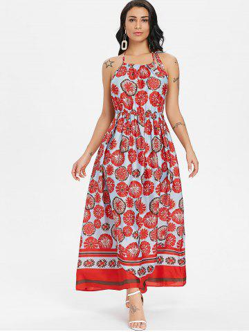 Bohemian Printed Long Dress