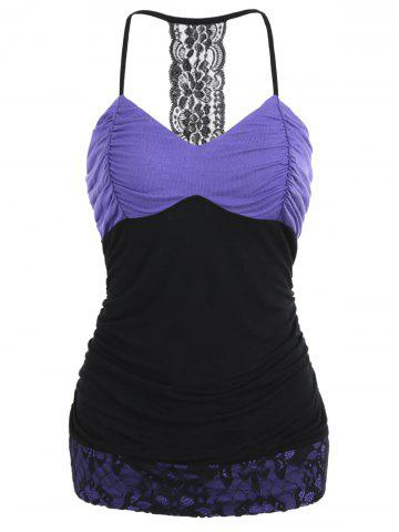 Outfit Empire Waist Ruched Slip Top