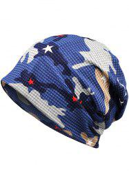Lightweight Camouflage Pattern Decorative Beanie -