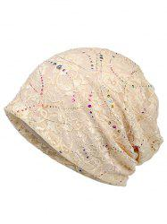Shimmer Sequins Кружева Slouchy Beanie -