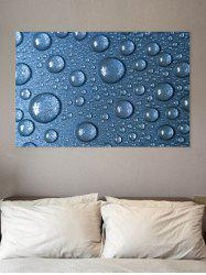 Droplet Print Wall Sticker for Bedrooms -