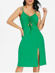 Cut Out Casual Sleeveless Dress -