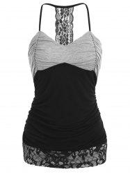 Empire Waist Ruched Slip Top -