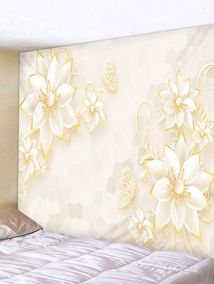 Latest Flower Print Wall Decor Tapesrty