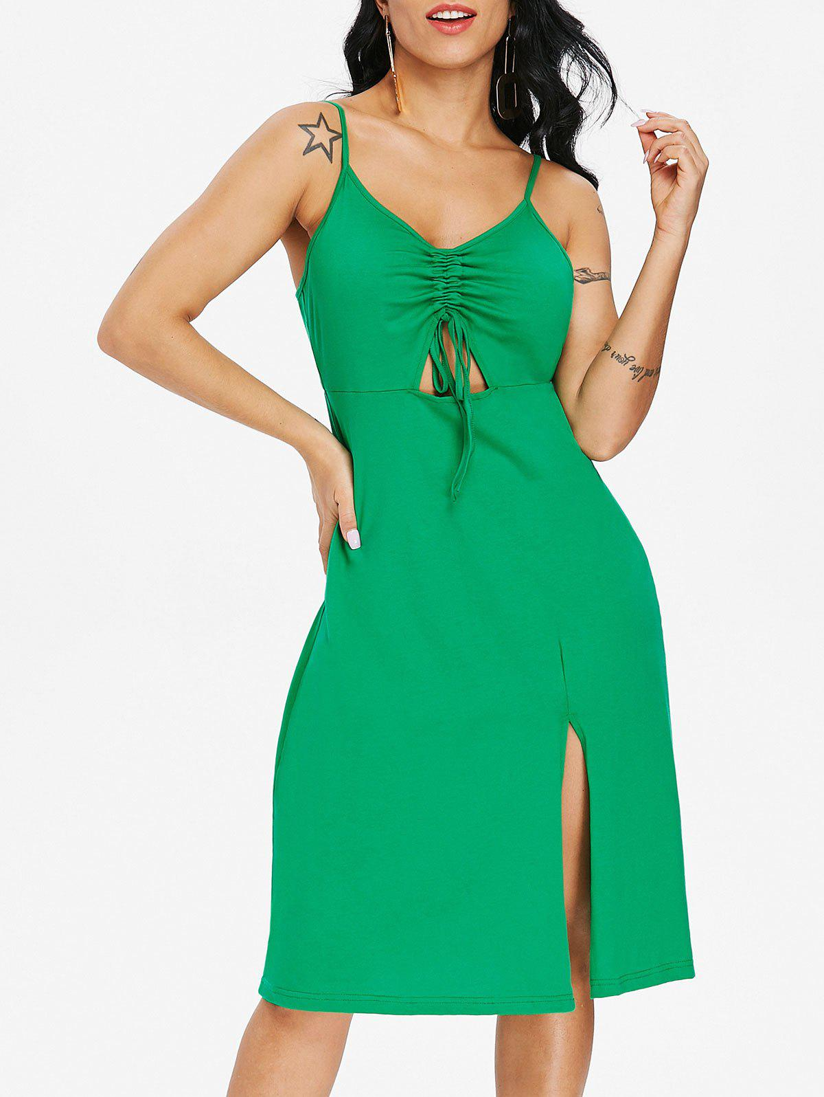 Online Cut Out Casual Sleeveless Dress