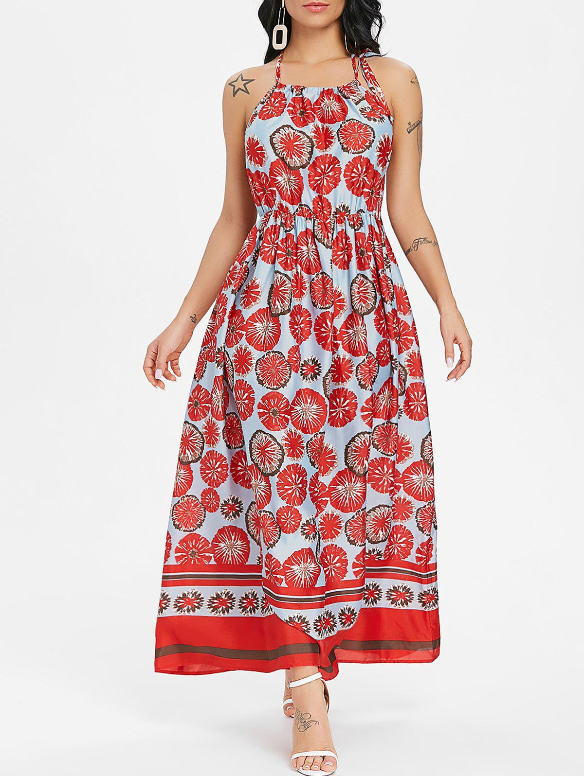 Discount Bohemian Printed Long Dress