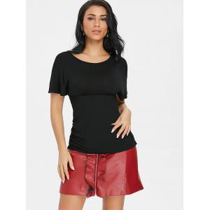 Short Sleeve Empire Waist  T-shirt -