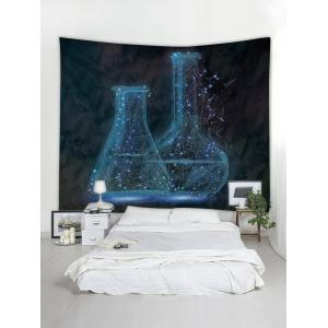 Wall Hanging Art Galaxy Bottle Print Tapestry -