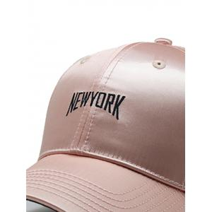 NEW YORK Embroidered Shimmer Hip Hop Hat -