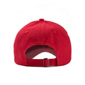 Letter Embroidery Adjustable Hip Hop Hat -