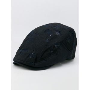 Outdoor Hollow Out Breathable Newsboy Hat -